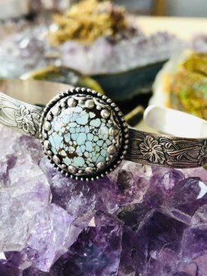 Gobi Lavender Turquoise Cuff